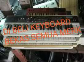 Di bayar cash keyboard dan piano