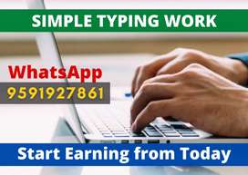 Simple typing jobs for students, housewifes and others. Apply now