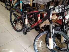 sepeda EXOTIC 2655 model uniq bisa kamu kredit dalam waktu 30 menit