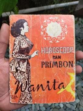 Buku Jadul Horoscoop Dan Primbon Wanita
