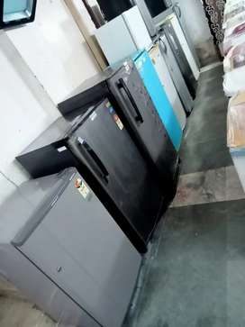Single door fridge with 90 days warranty, delivery available