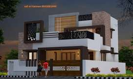 New 3 Bhk Gated Community individual villas for sale in vadavalli.
