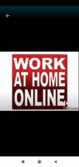 Work at home online