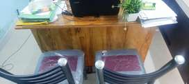 Office furniture for sale only few months used