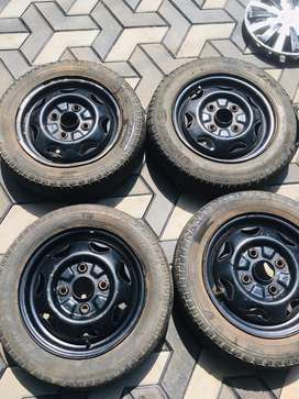 13 inch wheels,tires&wheel cup tubes