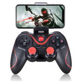 Android Gamepad. Play PUBG Call of Duty with mobile holder