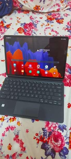 Jual Cepat Samsung Galaxy Tab S7 Plus & Keyboard