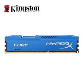 Kingston hyperXfury 1866mhz gaming 4gb ram
