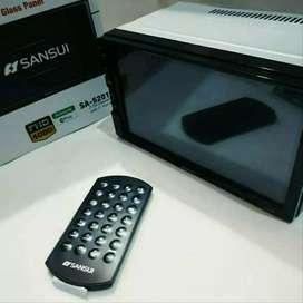 Paket hemat DOUBLE DIN SANSUI 5202I di sukawangi bekasi