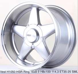 VELG RACING HSR R16X8/9 H8X100-114,3 ET35/25 SML