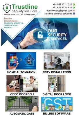 Cctv camera, home automation