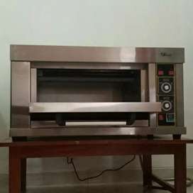 Jual gas oven roti 1 deck 1 tray fomac bergaransi resmi