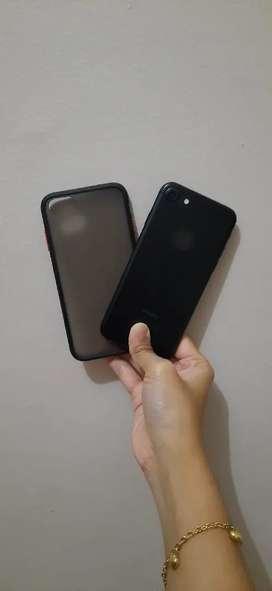 IPHONE 7 32GB JET BLACK MULUSS