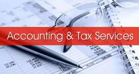 Accountant,Income Tax,GST filing,Project&Audit