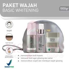 MS GLOW Paket Whitening Dan Acne