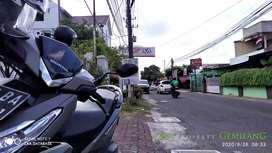 Tanah Premium Bonus Bangunan di dkt Jl Kaliurang samping Yonif 403