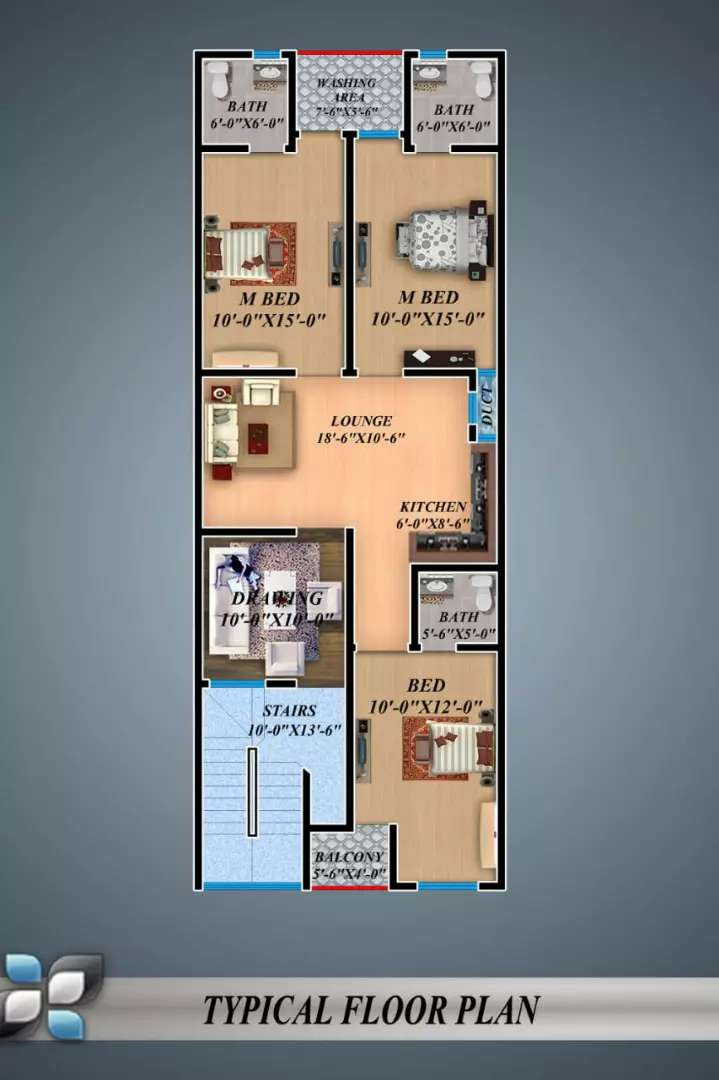 Ground Floor For Sale On booking 0