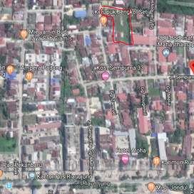 Jual cepat, tanah & bangunan perumahan (25 unit tipe 60) dekat jl Riau