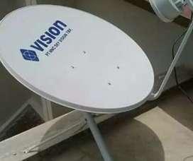 Indovision Mnc Vision Family Pack tv digital paling top jernih bagus