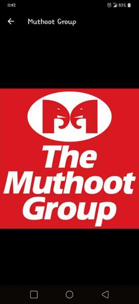 CCE REQUIRED FOR  MUTHOOT FINANCE LTD. NBFC BANK