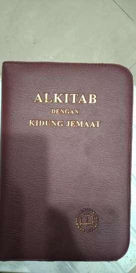 Alkitab dengan kidung Jemaat Pakai Bungkus exculusiv