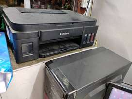 A newly conditioned good canon printer cum xerox machine 7999 only
