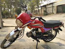 Honda CD Dream 2014 Model Red In Excellent Condition