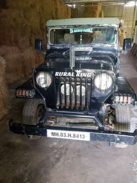 Mahindra Jeep 1997, Good Condition with Cobra Steering, Power brake