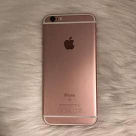 6s rose gold