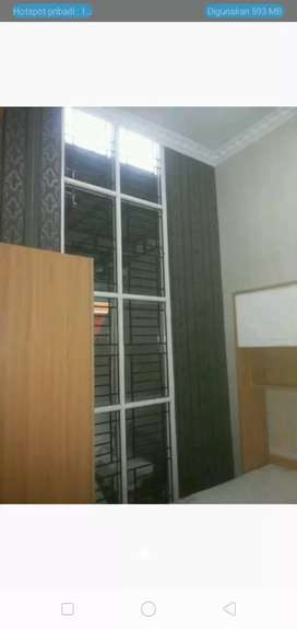 Wallpaper - Lantai kayu - Vertical Blind In Design