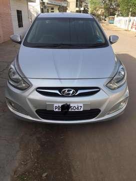 Hyundai Verna 2012 Diesel 73000 Km Driven