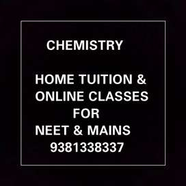 CHEMISTRY HOME TUITIONS