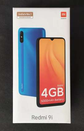 redmi 9i 4gb+128gb green,blue & 9prime & note9 all model sealpack, fix