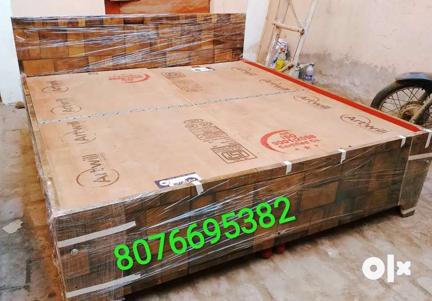 Free delivery/Heavy quality doubel bed box king size