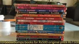 Children Books Goosebumps , Horrible Science and Horrible Histories