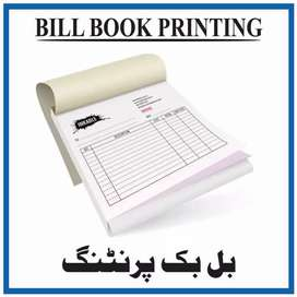 Invoice book printing available
