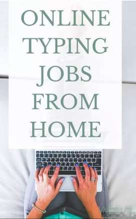 Data entry or typing jobs for everyone at home based