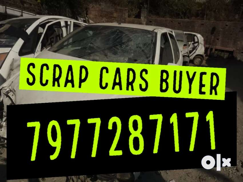 We buy scrap old accidental cars 0