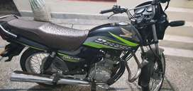 Honda Deluxe 125  Steel (chrome) silencer