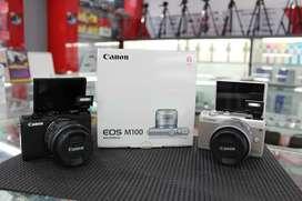 Kamera Canon Eos M100 Bisa Cash Dan Kredit Proses Cepat !