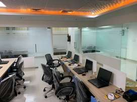 Fully furnished office logix technova noida