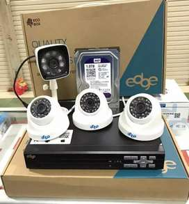 CCTV 4 CHANEL Plus Pemasangan