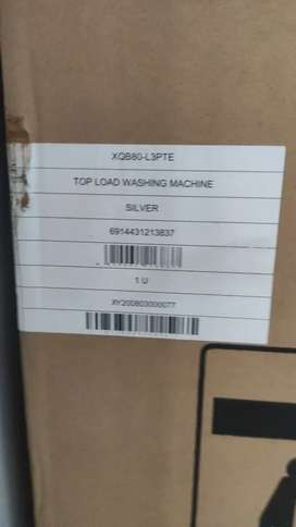 (Brand New) Galanz 8kg fully automatic washing machine top load