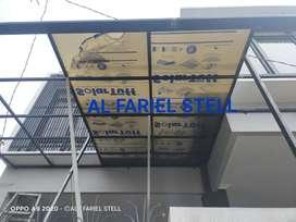 Kanopi solar flat canopy solarflat kanopi solarflat hrg murah tanpa dp