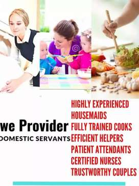 Domestic and commercial staff available