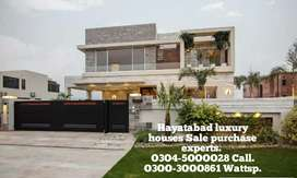 1 kanal luxury house for sale in Hayatabad at reasonable price.