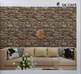 Wallpaper Dinding PREMIUM Motif Batu Alam 2 De Cafe 20