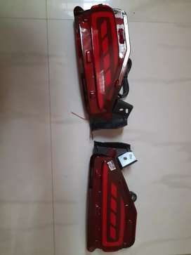 Fortuner rear bumper reflector light