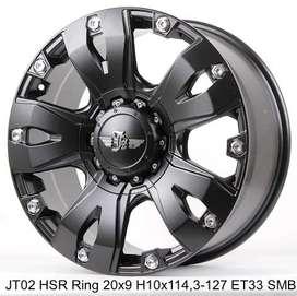 New Style JT02 HSR R20X9 H10X114,3-127 ET33 SMB