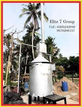 No fuel incinerator for homes, hotels, Schools, Business Units etc